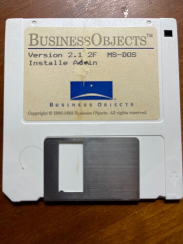 Disk Business Objects 2.1.2F - Install Admin