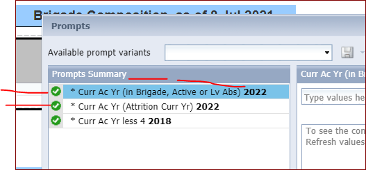 Business Objects, 3 queries with same parameter name
